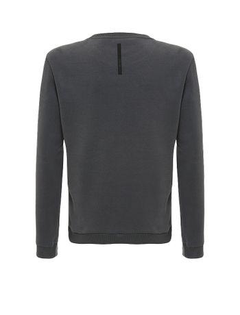 Casaco-Infantil-Calvin-Klein-Jeans-Moletom-Logo-Chumbo