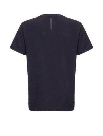 Camiseta-Infantil-Calvin-Klein-Jeans-Estampa-Peito-Bandeira-Marinho