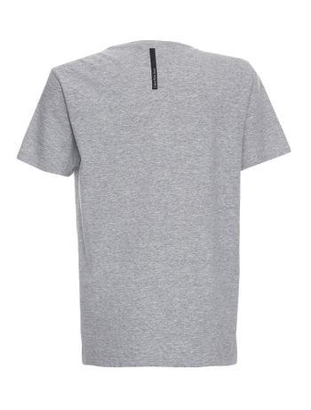 Camiseta-Infantil-Calvin-Klein-Jeans-Estampa-Institucional-Mescla