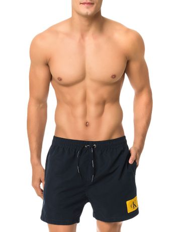 Bermuda-D-Agua-Calvin-Klein-Swimwear-Ck-Re-Issue-Marinho