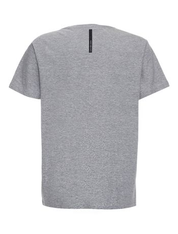 Camiseta-Infantil-Calvin-Klein-Jeans-Estampa-American-Mescla