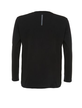 Camiseta-Infantil-Calvin-Klein-Jeans-Etiqueta-Logo-Preto