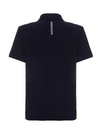 Polo-Infantil-Calvin-Klein-Jeans-Etiqueta-Logo-Marinho