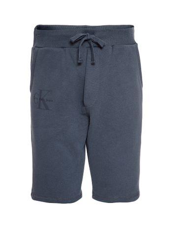 Bermuda-Infantil-Calvin-Klein-Jeans-Logo-Chumbo