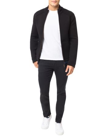 Casaco-Calvin-Klein-Jeans-Dublado-Detalhes-Tricot-Preto