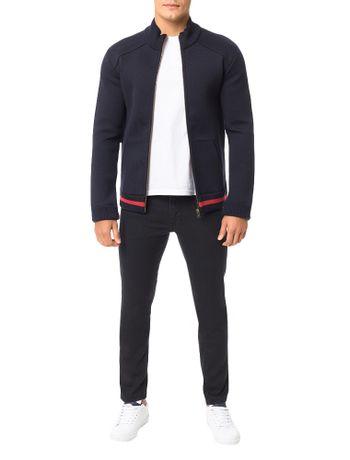 Casaco-Calvin-Klein-Jeans-Dublado-Detalhes-Tricot-Marinho