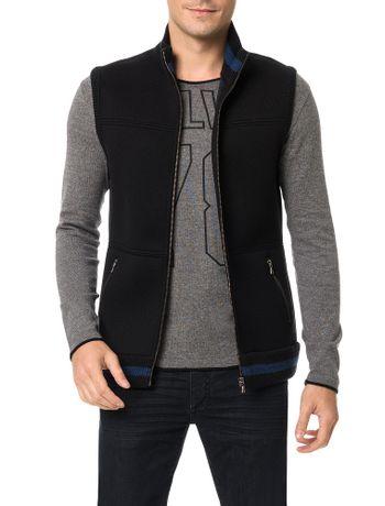 Colete-Calvin-Klein-Jeans-Dublado-Detalhes-Tricot-Preto