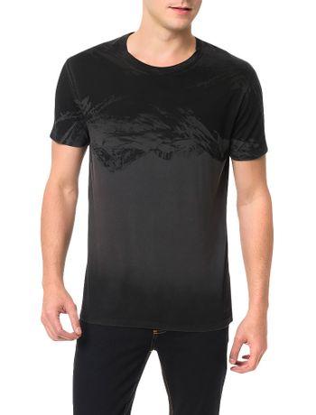 Camiseta-Calvin-Klein-Jeans-Estampa-Montanhas-Grafite