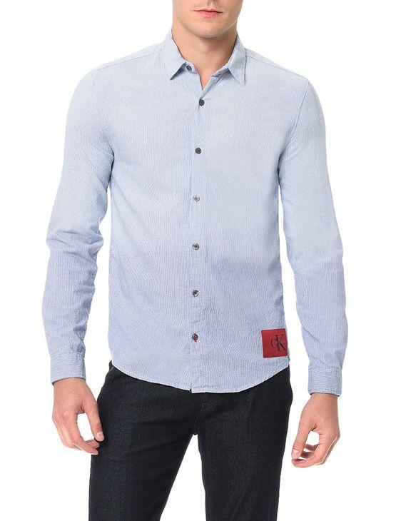 Camisa-Calvin-Klein-Jeans-Classico-Imersao-Azul-Claro