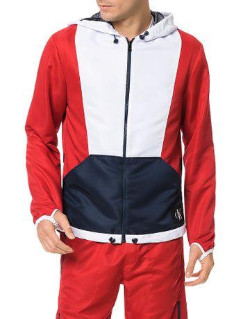 Casaco-Calvin-Klein-Jeans-Nylon-America-Vermelho