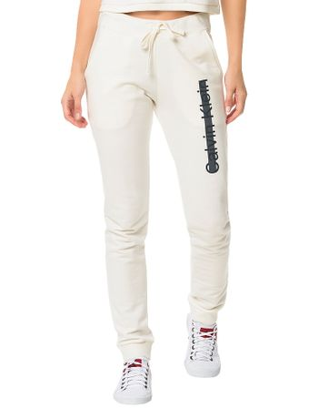 Calca-De-Moletom-Calvin-Klein-Underwear-Off-White