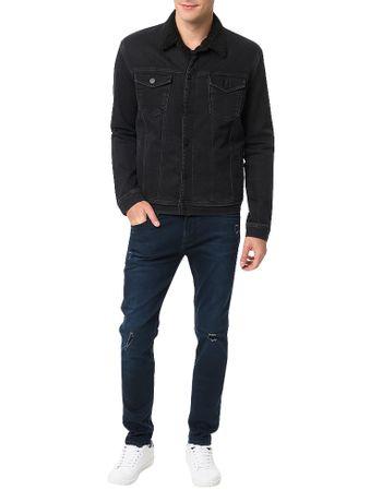 Jaqueta-Preta-Calvin-Klein-Jeans
