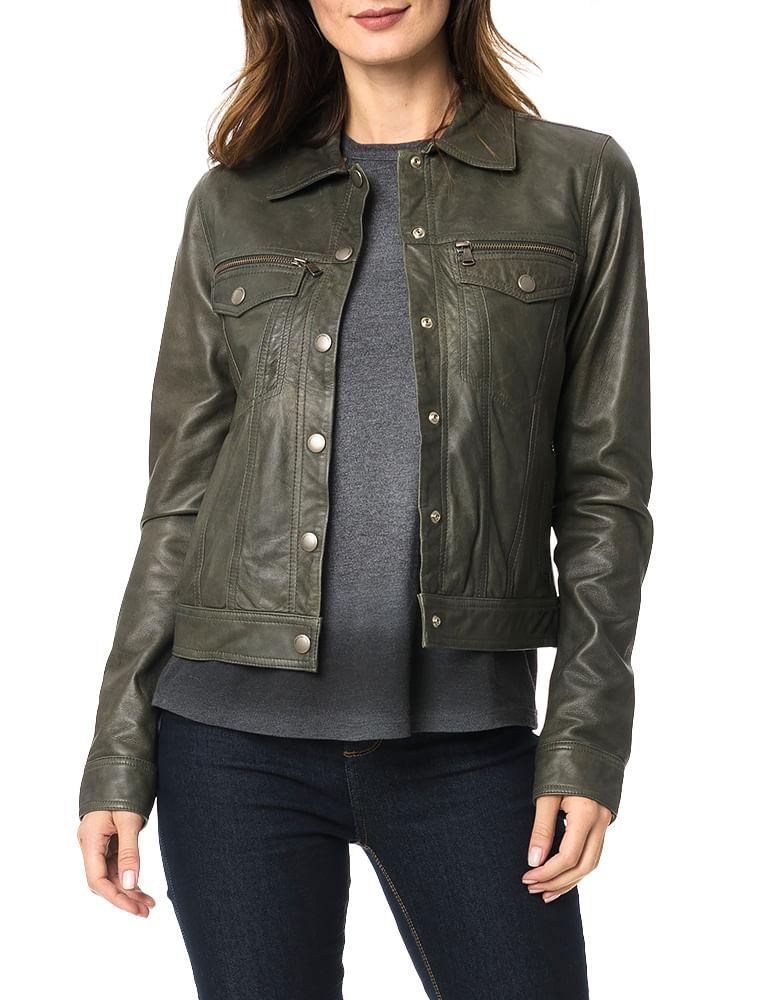 8582f10e2 Jaqueta Calvin Klein Jeans Bolsos Militar - Calvin Klein