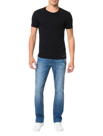Calca-Azul-Medio-Calvin-Klein-Jeans-Five-Pockets-Slim-Straight