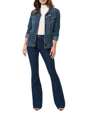 Jaqueta-Jeans-Trucker-Calvin-Klein-Jeans-Azul-Marinho