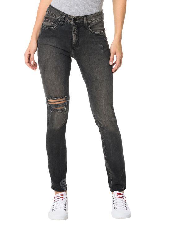 Calca-Calvin-Klein-Jeans-5-Pockets-Sp-High-Preto