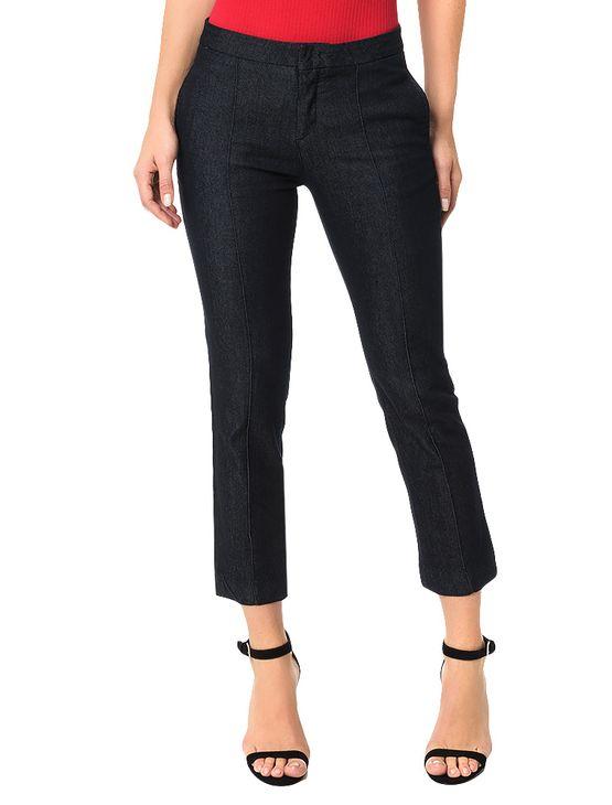 Calca-Calvin-Klein-Jeans-5-Pockets-Straight-High-Azul-Marinho