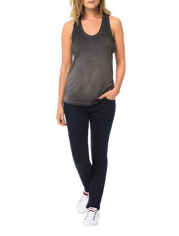 Blusa-Calvin-Klein-Jeans-Com-Lavanderia-Preto