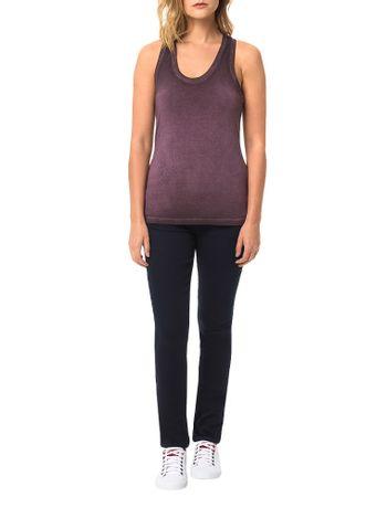 Blusa-Calvin-Klein-Jeans-Com-Lavanderia-Bordo