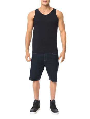 Regata-Calvin-Klein-Swimwear-Logo-Barra-Preto