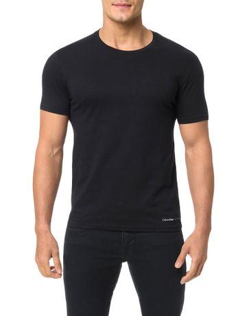 Camiseta-Calvin-Klein-Swimwear-Logo-Barra-Preto