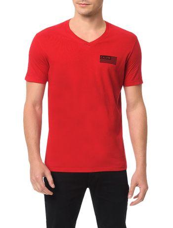 Camiseta-Calvin-Klein-Jeans-Estampa-Bandeira-Calvin-Vermelho