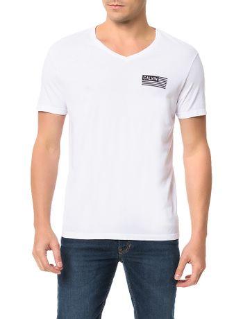Camiseta-Calvin-Klein-Jeans-Estampa-Bandeira-Calvin-Branco
