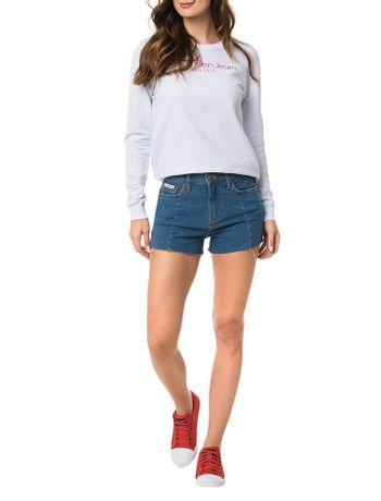 Shorts-Calvin-Klein-Jeans-Five-Pockets-Azul-Medio