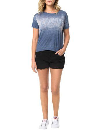 Blusa-Calvin-Klein-Jeans-Come-Estampa-Frontal-Marinho