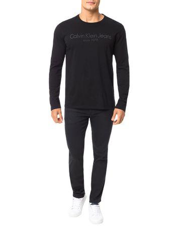 Camiseta-Calvin-Klein-Jeans-Logo-Preto