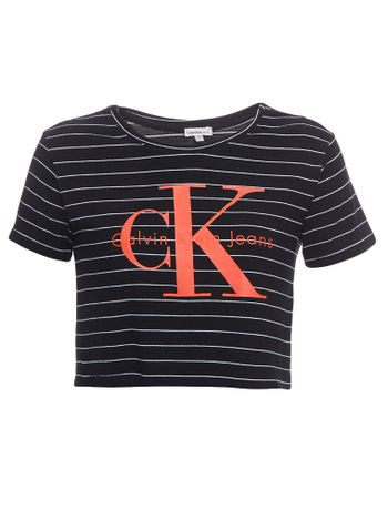Blusa-Infantil-Calvin-Klein-Jeans-Listrada-Logo-Calvin-Klein-Jeans-Mescla