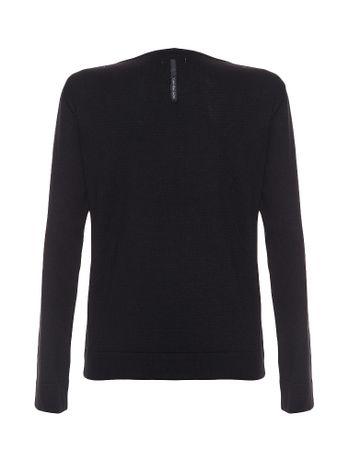 Sueter-Infantil-Calvin-Klein-Jeans-Logo-Peito-Preto