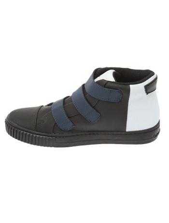 Tenis-Infantil-Calvin-Klein-Jeans-Sintetico-Velcros-E-Recorte-Preto