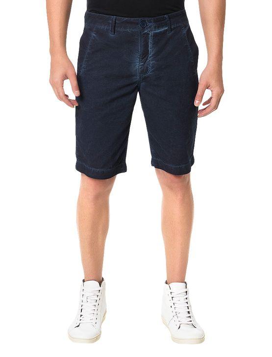 Bermuda-Color-Calvin-Klein-Jeans-Five-Pockets-Marinho