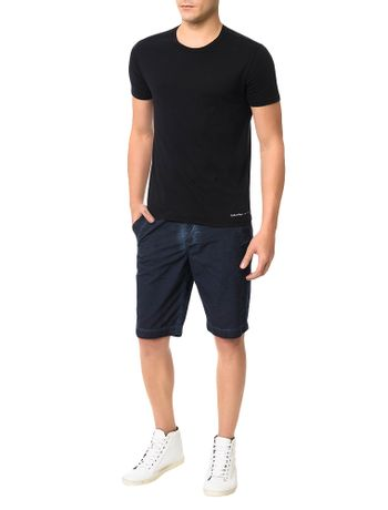 Bermuda-Color-Calvin-Klein-Jeans-Five-Pockets-Marinho