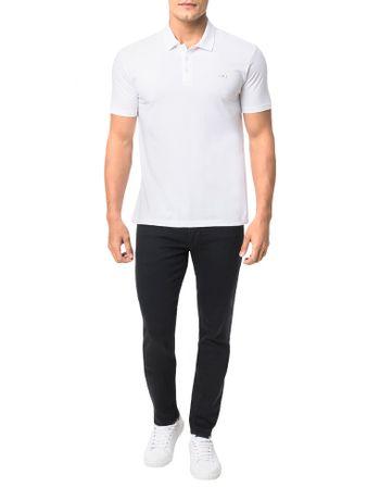 Polo-Calvin-Klein-Jeans-Estampa-Logo-Cliche-Branco