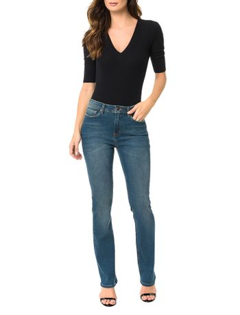 Calca-Calvin-Klein-Jeans-Five-Pockets-Straight-High-Azul-Medio