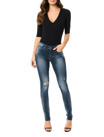Calca-Calvin-Klein-Jeans-5-Pockets-Super-Skinny-Marinho