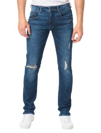 Calca-Jeans-Azul-Medio-Calvin-Klein-Jeans-Five-Pockets-Super-Skinny