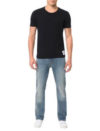 Calca-Calvin-Klein-Jeans-Relaxed-Straight-Azul-Claro
