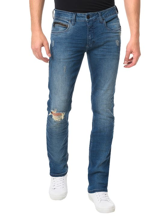 Calca-Azul-Medio-Calvin-Klein-Jeans-Skinny-5-Pockets