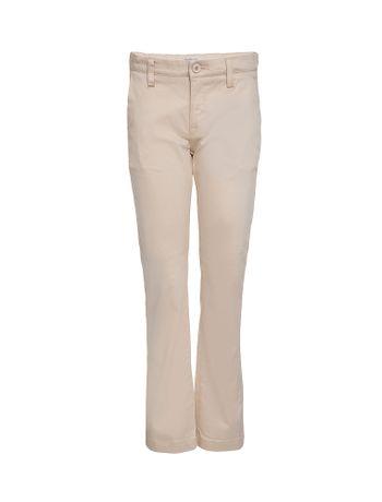 Calca-Plano-Infantil-Calvin-Klein-Jeans-Caqui-Claro
