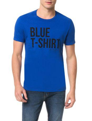 Camiseta-Calvin-Klein-Jeans-Estampa-White-T-Shirt-Azul-Carbono