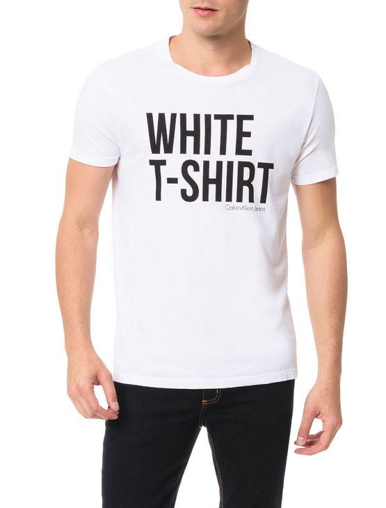 Camiseta-Calvin-Klein-Jeans-Estampa-White-T-Shirt-Branco