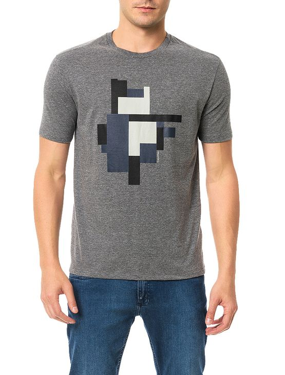 Camiseta-Regular-Calvin-Klein-Estampa-Bocks-Chumbo