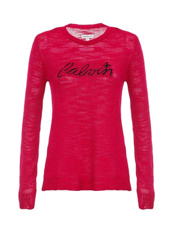 Sueter-Infantil-Calvin-Klein-Jeans-Logo-Com-Estrela-Rosa-Pink
