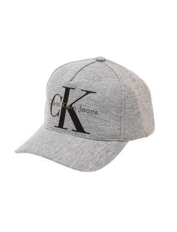 Bone-Infantil-Calvin-Klein-Jeans-Logo-Etiqueta-Logomarca-Mescla
