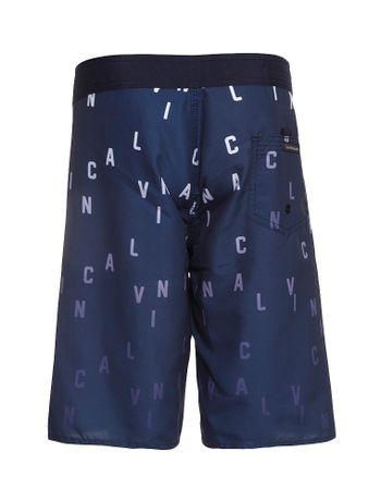 Bermuda-D-Agua-Infantil-Calvin-Klein-Jeans-Estampa-Logo-Marinho
