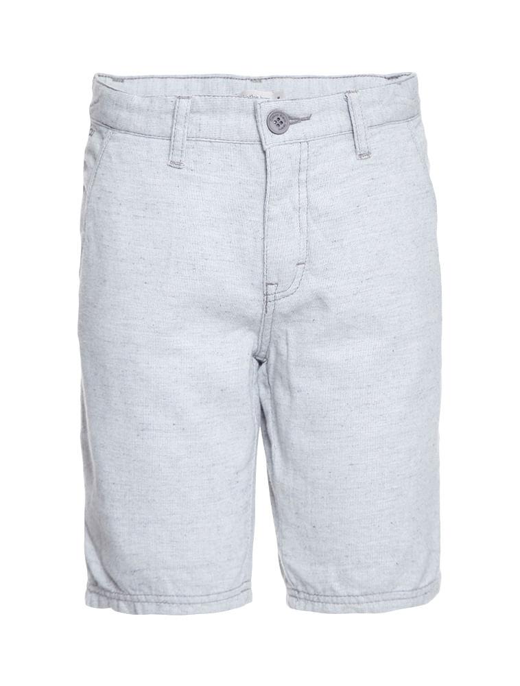 56117c5b03b61 Bermuda Color Infantil Calvin Klein Jeans Cinza Claro - Calvin Klein