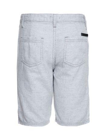 Bermuda-Color-Infantil-Calvin-Klein-Jeans-Cinza-Claro